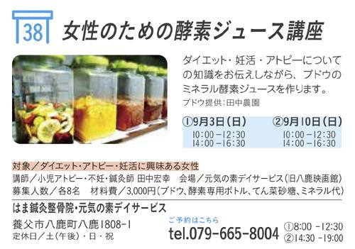 女性のための酵素ジュース講座image1